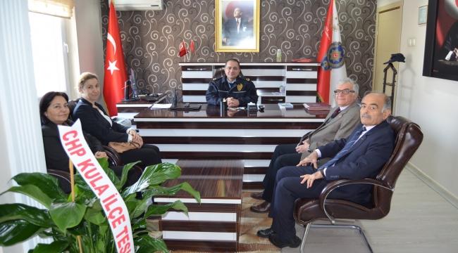 CHP'den Yeni Emniyet Müdürüne Ziyaret