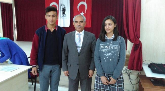 İlçe Öğrenci Meclis Başkanlığı Seçimi Yapıldı.