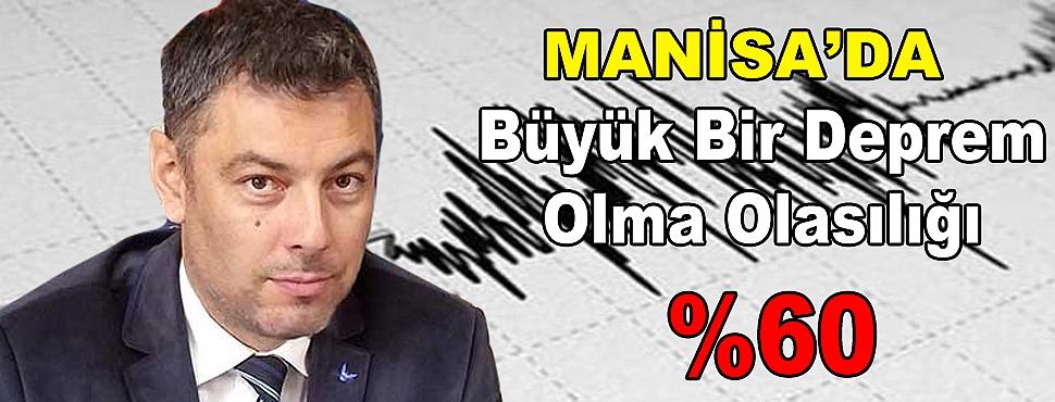 Büyük Bir Deprem Olma Olasılığı Yüzde 60