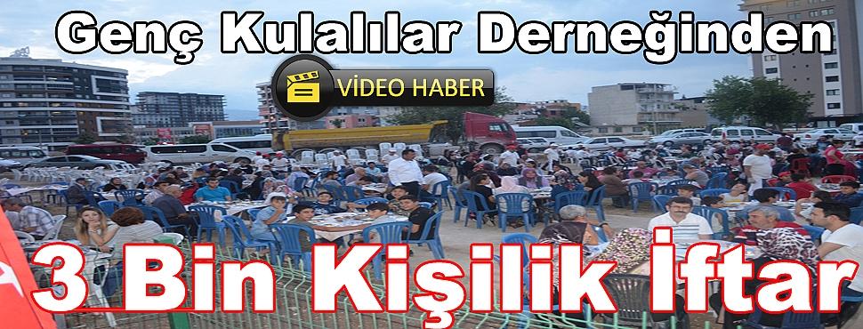 İzmir'de Yaşayan Kula'lılar İftarda Buluştu