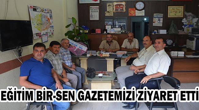 Eğitim Bir-sen Gazetemizi Ziyaret Etti