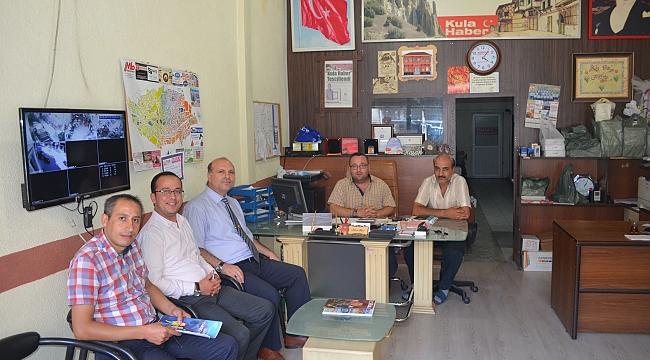 SGK Müdürü Mehmet Dutar, gazetemizi ziyaret etti