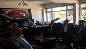 Türk Eğitim Sen'den Sümen'e Ziyaret