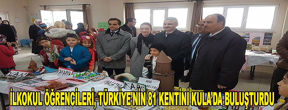 İlkokul Öğrencileri, Türkiye'nin 81 Kentini Kula'da Buluşturdu