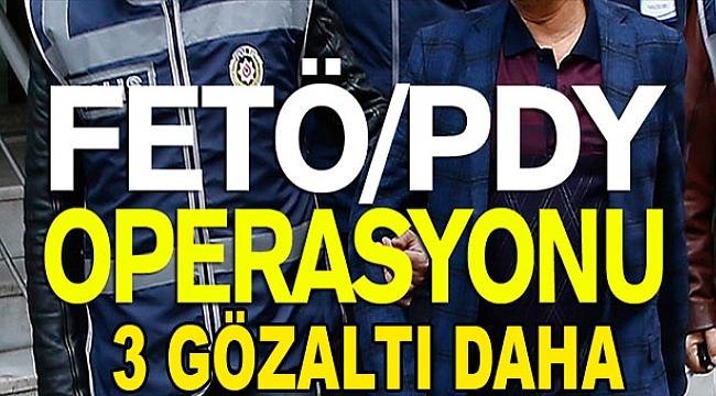 Kula'da 3 kişi FETÖ'den Gözaltına Alındı
