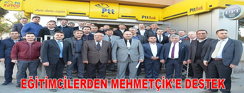 EĞİTİMCİLERDEN MEHMETÇİK'E DESTEK