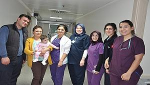 Ömür Bebek Can Hastanesi'nde Hayata Tutundu