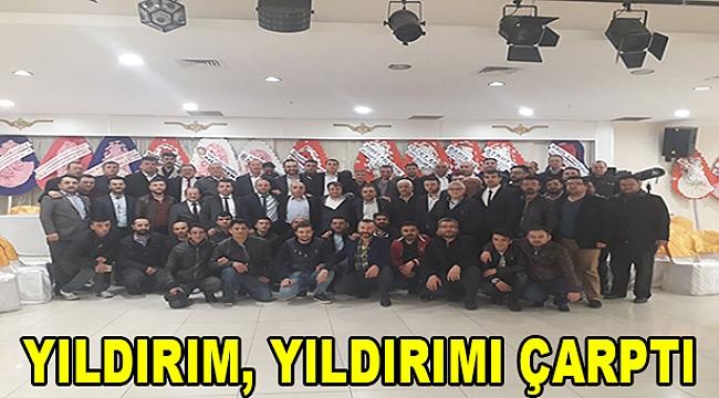 YILDIRIM, YILDIRIMI ÇARPTI