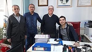 CHP İlçe Başkanı, Dokumacılar Odasını Ziyaret Etti