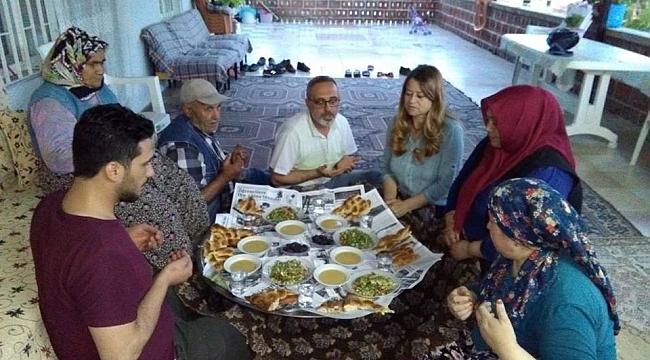 Ak Parti Teşkilatı, 15 aile ile iftar sofrasında buluştu