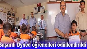 Başarılı Dyned öğrencileri ödüllendirildi