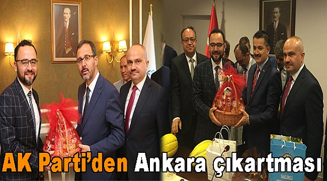 AK Parti'den Ankara çıkartması