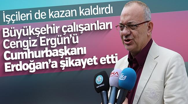 Manisa Büyükşehir Belediyesi çalışanları da Cengiz Ergün'den şikayetçi