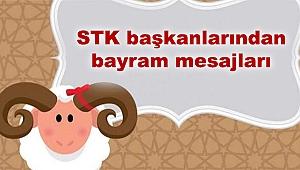 STK başkanlarından bayram mesajları