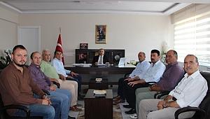 MHP yönetiminden kaymakam Duru'ya hayırlı olsun ziyareti