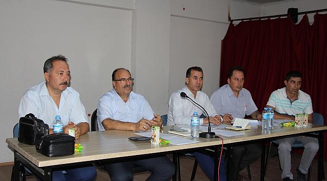 Okul müdürleri, yeni eğitim yılı için toplandı