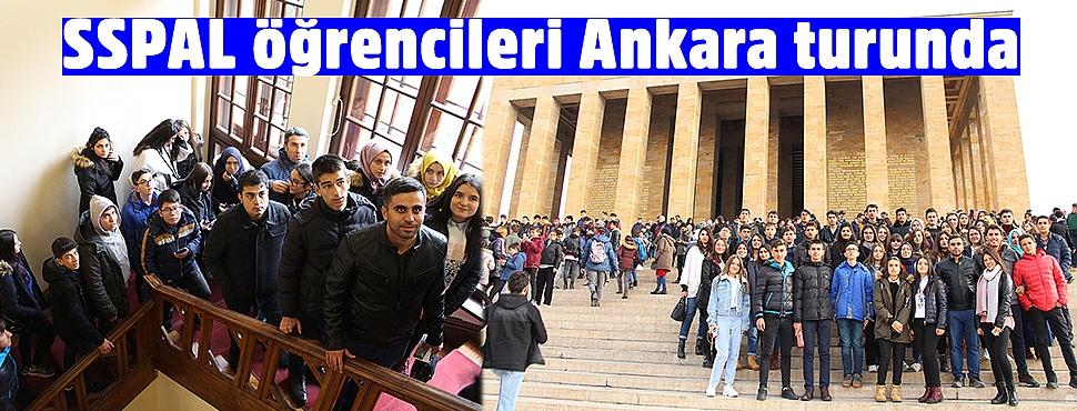 SSPAL öğrencileri Ankara turunda