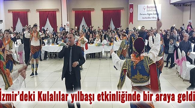 İzmir'deki Kulalılar yılbaşı etkinliğinde bir araya geldi