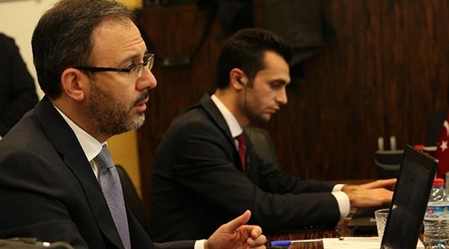 BAKAN KASAPOĞLU'NDAN BAĞIMLILIKLA MÜCADELEDE 'BİRLİK OLMA' VURGUSU
