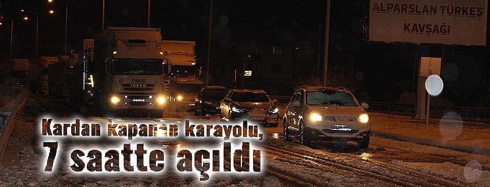 İzmir-Ankara D300 Karayolu, 7 saatte trafiğe açıldı