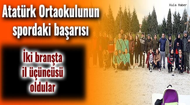 Atatürk Ortaokulunun spordaki başarısı