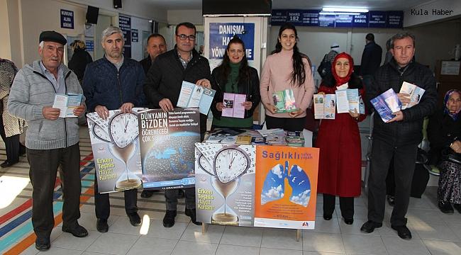 4 Şubat dünya kanser gününde erken teşhisin önemini vurguladılar