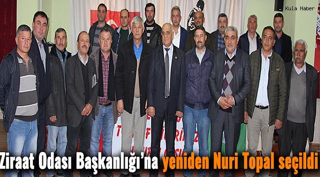 Ziraat Odası Başkanlığı'na yeniden Nuri Topal seçildi