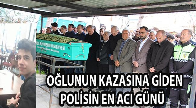 OĞLUNUN KAZASINA GİDEN POLİSİN EN ACI GÜNÜ
