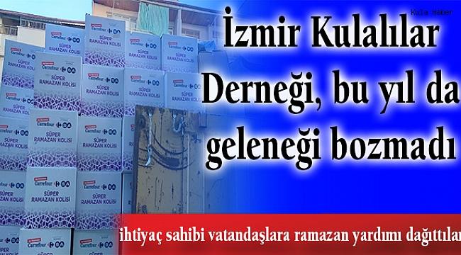 İzmir Kulalılar Derneği, bu yıl da geleneği bozmadı