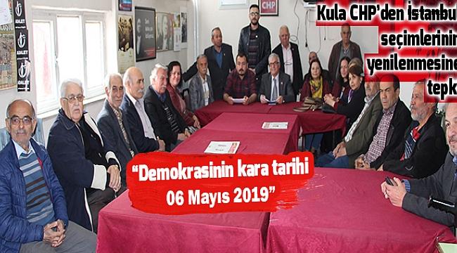 Kula CHP'den İstanbul seçimlerinin yenilenmesine tepki