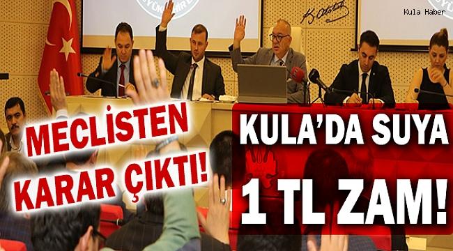 KULA'DA SUYA 1 TL ZAM!