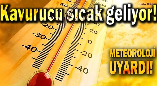 METEOROLOJİ UYARDI! Kavurucu sıcak geliyor!
