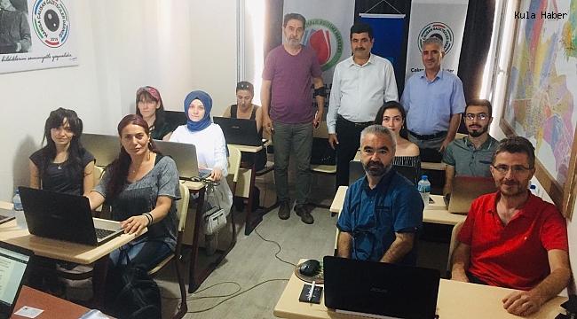 Ermiş'ten kurs gören gazetecilere ziyaret