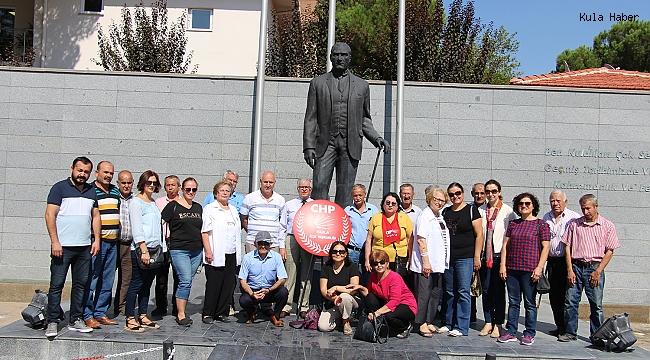 Kula'da CHP'nin 96'ncı kuruluş yıldönümü kutlandı