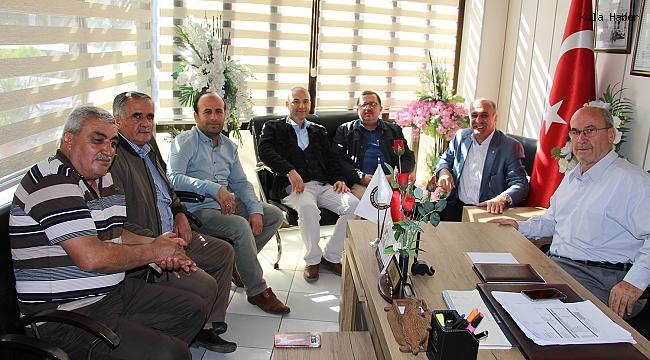 Dr. Çamlı'dan başkanlara ziyaret