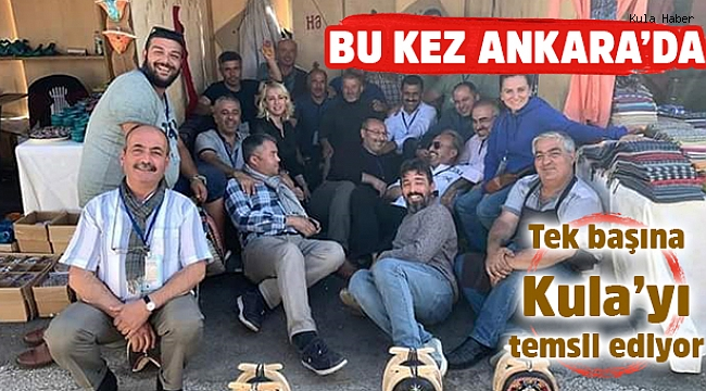 İstanbul'dan sonra Ankara'da da Kula'yı tek başına temsil etti