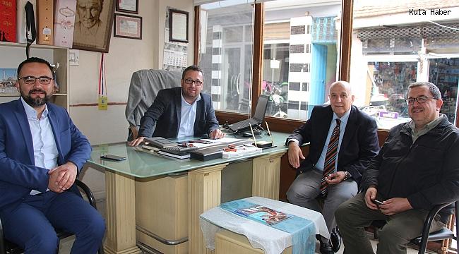 AK Partili Taydaş'tan gazetemize ziyaret