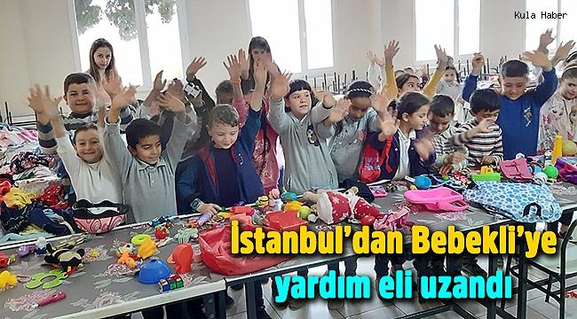İstanbul'dan Bebekli'ye yardım eli uzandı