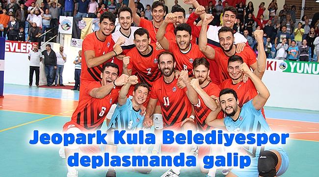Jeopark Kula Belediyespor deplasmanda galip