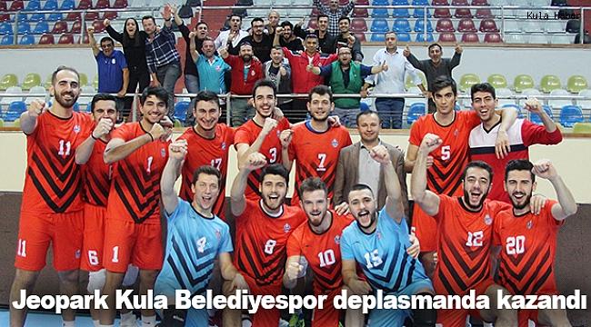 Jeopark Kula Belediyespor deplasmanda kazandı