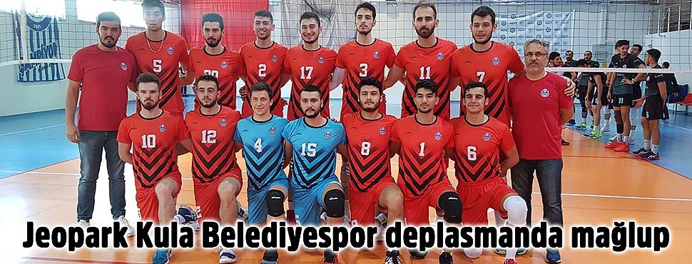 Jeopark Kula Belediyespor deplasmanda mağlup