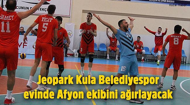 Jeopark Kula Belediyespor evinde Afyon ekibini ağırlayacak