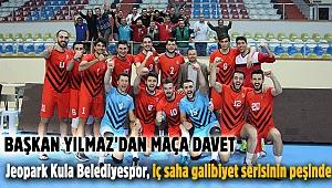 Jeopark Kula Belediyespor, iç saha galibiyet serisinin peşinde