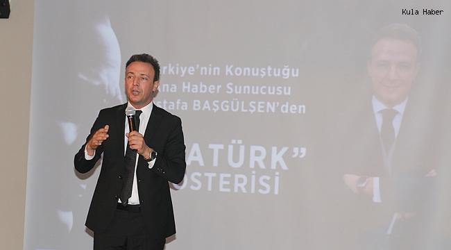 Kula CHP Atatürk'ü Başgülşen ile andı