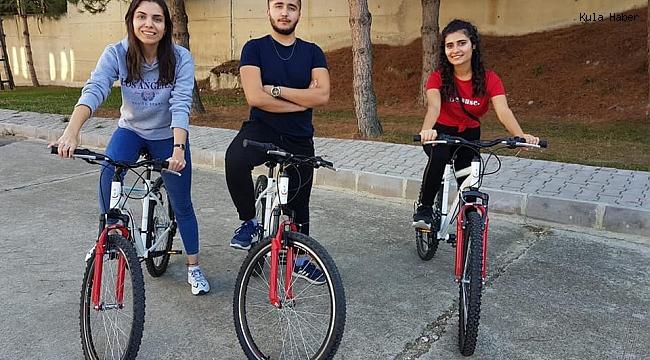 MYO öğrencileri kampüsü bisikletle dolaşacak