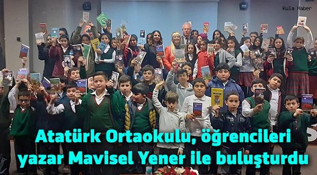 Atatürk Ortaokulu, öğrencileri yazar Mavisel Yener ile buluşturdu