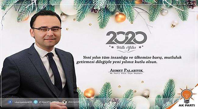 Başkan Palabıyık'tan yeni yıl mesajı