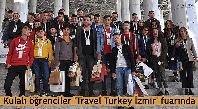 Kulalı öğrenciler 'Travel Turkey İzmir' fuarında