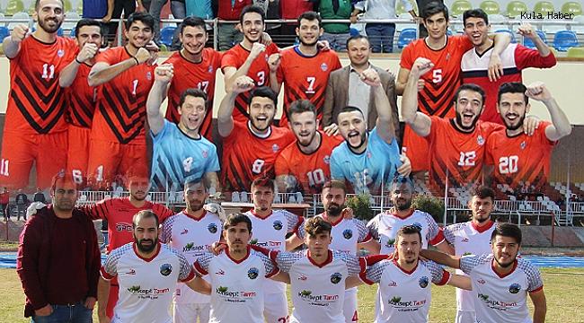 Bugün Kula'da voleybol ve futbol heyecanı yaşanacak