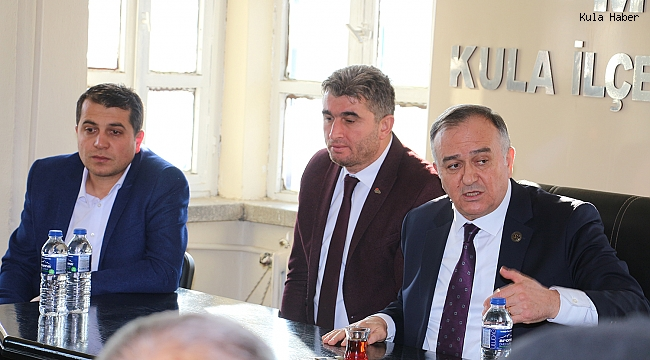 MHP'li Akçay'dan ilçe teşkilatına ziyaret